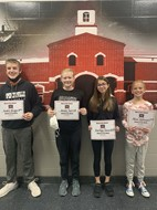 September Students of the Month - Spencerville Middle School