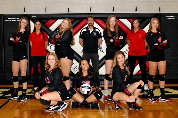 2020 Bearcat Volleyball Team Picture