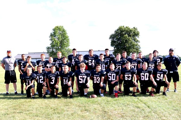2020 Bearcat JH Football Team Picture