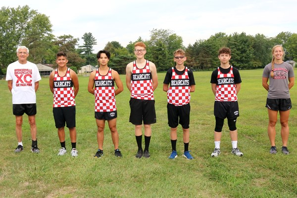 2020 Bearcat Boys Cross Country Team Picture