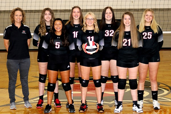 2020 Bearcat 8th Grade Volleyball Team Picture