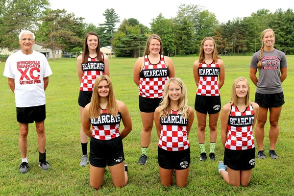 2020 Bearcat Girls Cross Country Team Picture