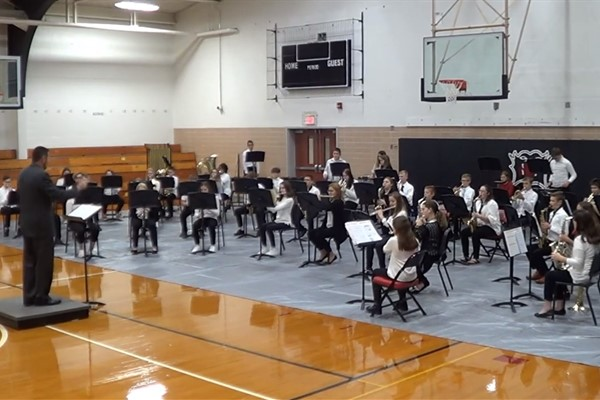 2020 Middle School Fall Band Concert