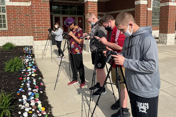 Spencerville HS Photography Class